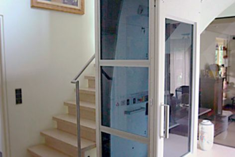 A wide range of lifts from Master Lifts can be installed inside a very small footprint.
