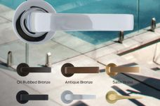 Legge Luxe Chrome finish from Allegion