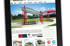 New website by Landmark Products