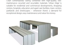 Urban Edge range by Cox Urban Furniture
