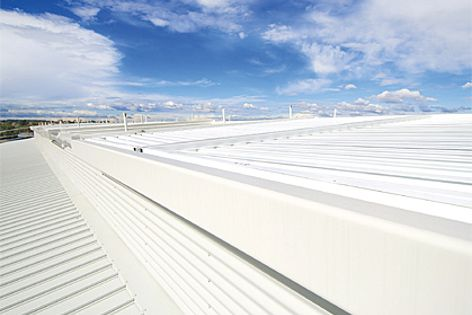 Thermal performance can be maximized using Colorbond Coolmax roofing in the colour Whitehaven.