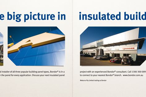 Bondor insulated building panels