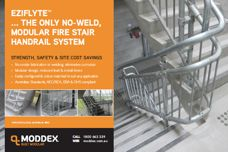 Handrail system by Moddex