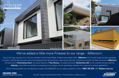 Finesse Millenium profile by Fielders