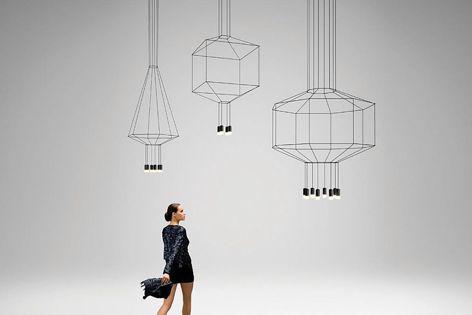 Vibia Wireflow light from Koda Lighting