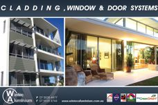 Wintec cladding, window and door systems
