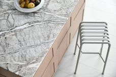 Vigo Lena marble surfaces and joinery
