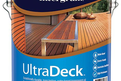 UltraDeck delivers a durable finish that enhances the timber grain and weathers naturally.
