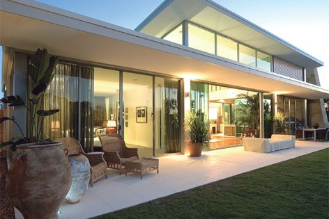 Modern window and door designs are a key part of the Wintec approach.