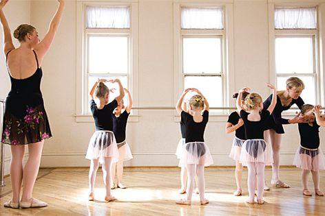 An engineered sprung dance floor benefits the bodies of young dancers.