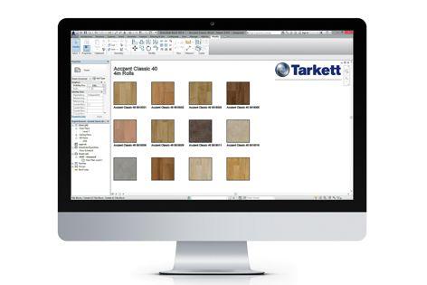 TarkoSpec flooring specification hub from Tarkett