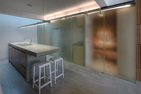 Winner, Creative Use of Glass in Interiors, Residential: Newtown Terrace by Sam Crawford Architects.