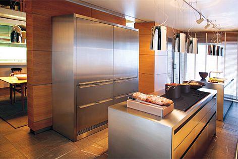 Sub-Zero integrated fridge by Multyflex