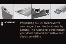 Aura architectural seals by Lorient