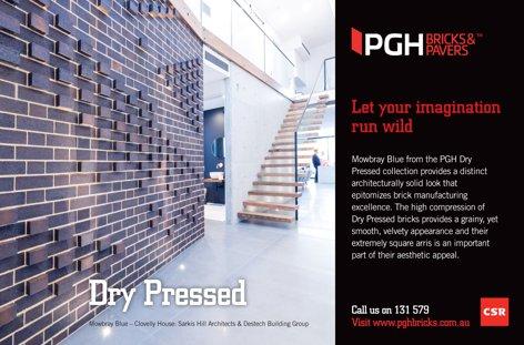 Dry Pressed bricks from PGH Bricks & Pavers