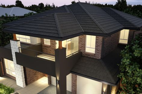 Planum Blackstone roof tiles are strong, elegant and fashionably flat.